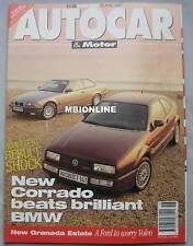 Autocar magazine 29/4/1992 featuring VW Corrado VR6, Renault A610 road test, BMW