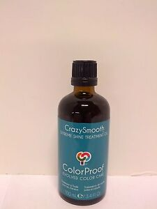 Color Proof Crazy Smooth Extreme Shine Treatment Oil .34 oz TRAVEL SIZE