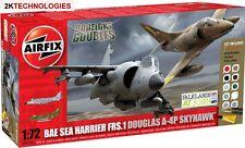 Airfix A50134 Douglas A-4 Skyhawk & BAe Sea Harrier FRS-1 1/72nd Scale Kit G Set
