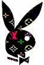 20 water slide nail art transfer designer Playboy  bunny 3/8 inch trending