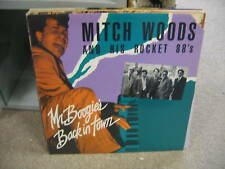 Mitch Woods & his Rocket 88's Mr. Boogie's Back In Town vinyl LP EX Blind Pig