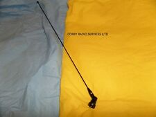 TAXI OR MARINE ANTENNA WHIP & HOLDER  ONLY 144 - 179 MHZ  HINGED PMR HAM VHF
