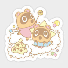 Animal Crossing Nooklings and Little Twin Stars Vinyl Decal Sticker Laptop Car