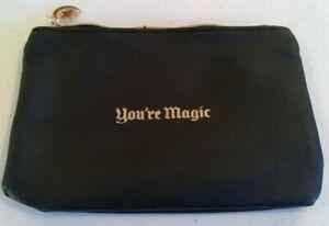 """Ipsy Black & Gold """"Magic"""" Themed Glam Bag Makeup Bag October 2020 (Bag Only)"""