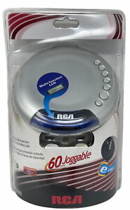 RCA Personal Portable CD Player Joggable Skip Protection RP2600 Year 2005 NEW
