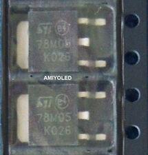 2x 78M05 LM7805 Regulador tensión, 5V -0,5A VOLTAGE REGULADOR DPAK SMD
