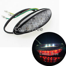 LED License Brake Rear Light Tail Light For Motorcycle Universal Turn Signal