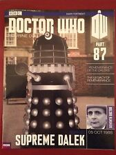 Doctor Who - Figurine Collection - issue 87 - Supreme Dalek (MAGAZINE ONLY)