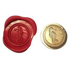 Single Wax sealing coin design 206 Seahorse design (XWSC206)