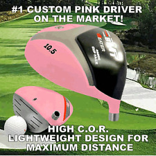 #1 CUSTOM COOL PINK DRIVER GOLF CLUBS LADY PETITE WOMENS LADIES DRIVER CLUB GIFT