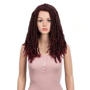 """Synthetic Wig For Women 22"""" Crochet Wig Braids Twist Jumbo Dread Faux Locs Long"""