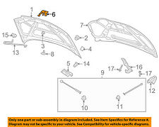 Chevrolet GM OEM 04-06 Aveo Hood-Lock Latch Striker 96540933