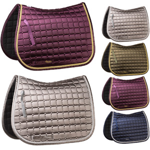 Rydale Horse Saddle Pad Equine Equestrian Equipment Pony Bridle Show 4 Colours