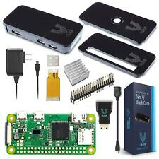 Raspberry Pi Zero W Basic Starter Kit - Black Case Edition By Vilros