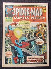 1973 SPIDER-MAN Comics UK Weekly #41 FVF 7.0 vs Kraven - John Romita