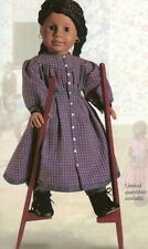 American Girl Pleasant Co 1997 Addy Stilting Outfit with Bloomers, Wood Stilts!