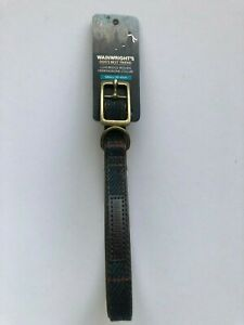 Wainwrights Luxury Woven Herringbone Collar Size SMALL 30-41 cm   INK BLUE