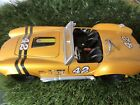 1965 SHELBY COBRA 427 in Yellow  - 1:24 Scale Diecast Classic Car Model Maisto