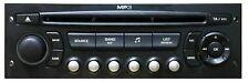 PEUGEOT FIAT EXPERT 207 307 807 CITROEN C2 C3 C4 C8 MP3 CD RADIO PLAYER VDO