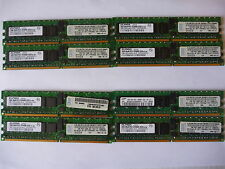 4 GB (4 X 1 GB) PC2-3200R DDR2 Elpida Samsung memoria RAM servidor JOBLOT PC2-3200