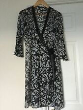 MARKS & SPENCER AUTOGRAPH Wrap Tie Kimono Top Dress Size 14