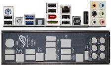 ATX Blende I/O shield Asus Crosshair IV 4 Formula io #63 Maximus III Gene new