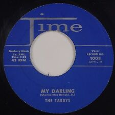 THE TABBYS: My Darling / Yes I Do TIME Doo Wop NM Repro? 45