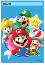8 X Super Mario Fête D'Anniversaire Sacs Take Home Sachets à Cadeaux Mario Fête