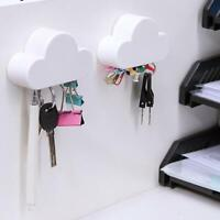 Magnetic Hooks Home Storage Holder Hooks Creative Cloud Shape Key Magnets Hooks