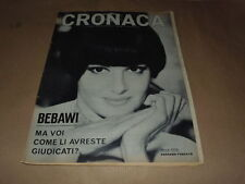 ROSSANA PODESTA'-LE MISS EUROPA 1966-LESLEY LANGLEY-BEBAWI-JANE FONDA-F.GIMONDI