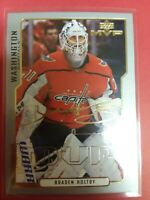 2020-21 Upper Deck MVP Braden Holtby Third Star Gold Script and 14 more Capitals