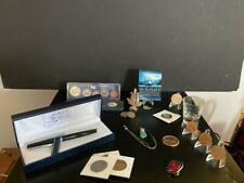 Collectibles Lot- SILVER, SHIPWRECK & NASA COINS, PENS, MEDALS  AND MUCH MORE