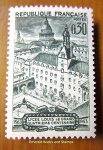 """EBS France 1963 400 Years Lyceum """"Louis-le-Grand"""" Lycée Paris MNH** YT1388"""