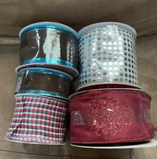 Wired Ribbon Lot New