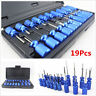 19pcs Universal Electrical Terminal Release Plug Type Connector Remover Tool Kit