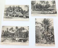 .4 x EARLY 1900's KERRY, SYDNEY SERIES SOUTH SEA ISLANDS UNUSED POSTCARDS