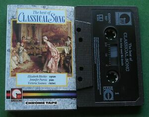 The Best Of Classical Song inc Chanson d'Amour + Cassette Tape - TESTED