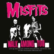 MISFITS WALK AMONG YOU LIVE THE MICHIGAN UNION BALLROOM DETROIT 1983  VINYl lp
