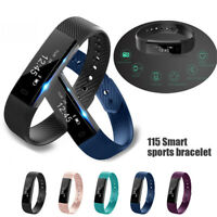 ID115 Bluetooth Smart Watch Bracelet Wristband Pedometer Sport Fitness Tracker