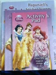 Disney Princess Activity Book set of 4 books NEW