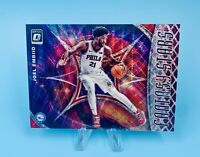 Joel Embiid 2019-20 Donruss Optic Fantasy Stars RED WAVE Prizm Holo TMall #3🔥🔥