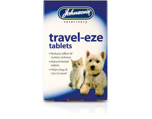 Johnson's Travel Eze Tablets Cats & Dogs