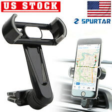Air Vent Cell Phone Holder 360° Car Mount Stand For Mobile GPS iPhone Samsung US