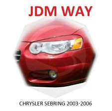 Eyebrows Eyelids Headlight Cover Eye Line  Chrysler SEBRING 2003-2006 Set