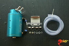 Universel Récupérateur vapeur d'huile ( Kit Oil Catch Tank ) de voitures bleu