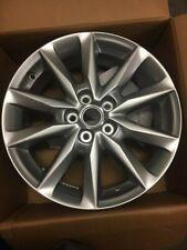 """Genuine Mazda 3 2013 onward  18"""" Alloy Wheel metal grey glossy  BHR1V3810"""