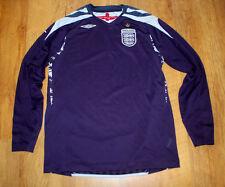 Umbro England 2007/2009 goalkeeper shirt (For height 164 cm)