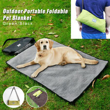 Outdoor Portable Foldable Warm Dog Travel Floor Throw Reversible Pet Blanket