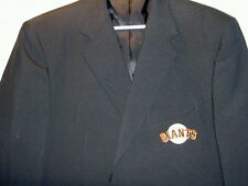 TWIN HILL SF SAN FRANCISCO GIANTS SPORT COAT BLAZER JACKET EMBROIDERED PATCH 42R