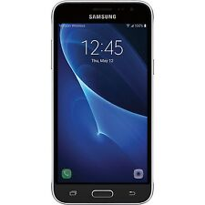 BRAND NEW SAMSUNG GALAXY J3 6 SM-J320FN 8GB 2016 BLACK UNLOCK  LTE 4G *UK STOCK*